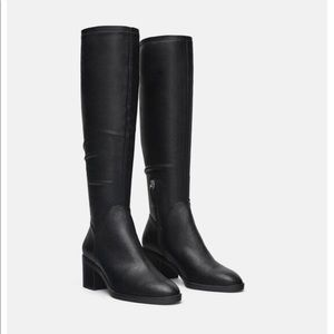 Zara high heeled boots